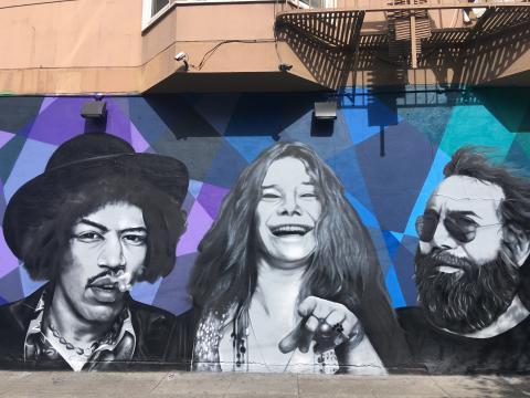 Jimi Hendrix, Janis Joplin et Jerry Garcia, 3 idoles du Summer Of Love