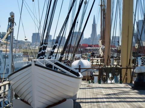 [Photo : Transamerica depuis Fisherman's Wharf]