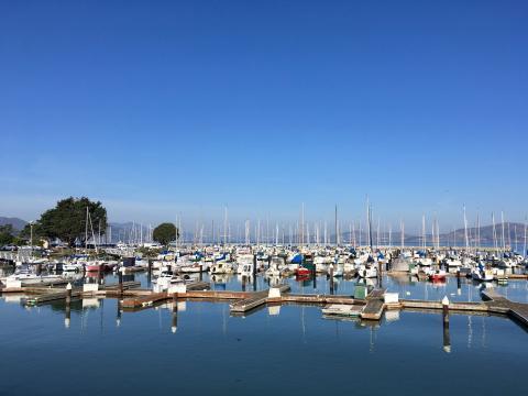 Photo : Port de plaisance San Francisco