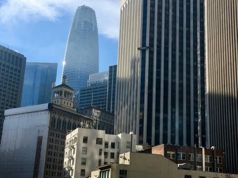 Photo : Downtown San Francisco Sale Force Tower